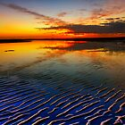 Nudgee Beach  by GeoffSporne