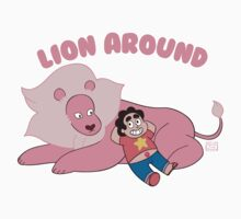 Steven and Lion - Lion Around  Baby Tee