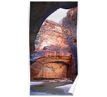 """""""Cathedral Gorge"""" Poster"""