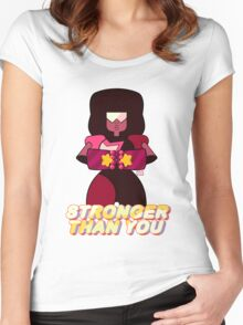 Garnet Stronger Than You Women's Fitted Scoop T-Shirt