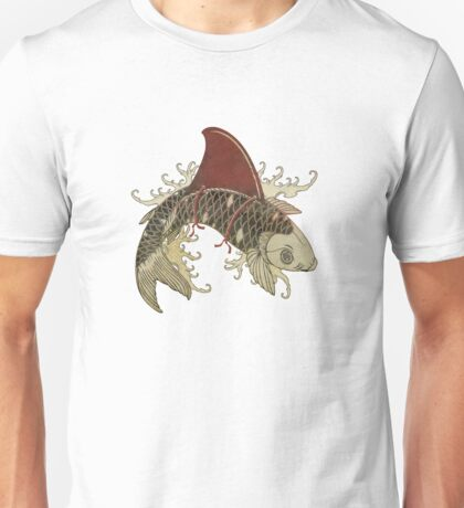 koi shark fin 03 T-Shirt