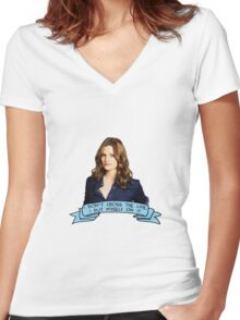 Beckett Women's Fitted V-Neck T-Shirt
