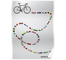 Ride Around The World Poster