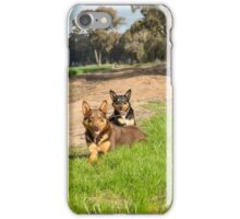 Ross & Missy......Young Kelpies..... iPhone Case/Skin