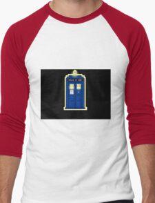 Dr Who 50th Anniversary Men's Baseball ¾ T-Shirt