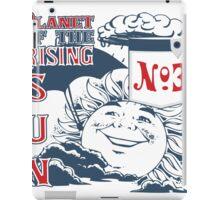 Planet of the Rising Sun iPad Case/Skin