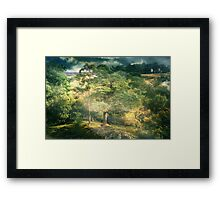 The Forest Perilous Framed Print