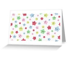 Luma Print White Greeting Card