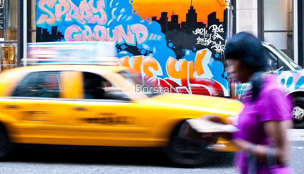 Manhattan, NYC by borstal