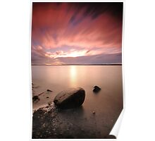 Sunset West Inlet Poster