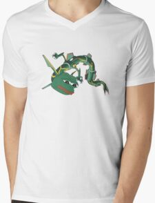 PokePepe Mens V-Neck T-Shirt
