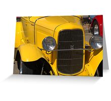 Ford Model A Coupe- Buffalo, MN Greeting Card