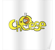Cheese logo. Poster