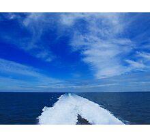 Blue Horizon Photographic Print