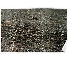 Wet Pebbles  Poster