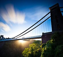Clifton Suspension Bridge - Bristol - England by Mathew Roberts