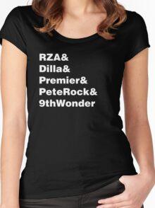 Hip Hop Helvetica II Women's Fitted Scoop T-Shirt