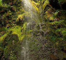 Waterfall by Gouzelka