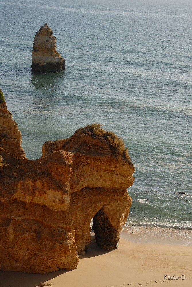 Algarve: Praia do Camilo by Kasia-D