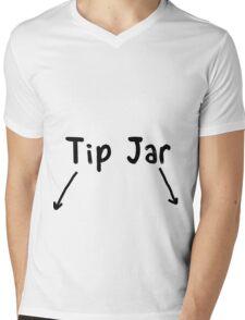 Tip Jar Mens V-Neck T-Shirt
