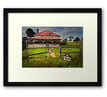 Country Road #70 - Anakie Framed Print