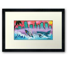 Miami Framed Print