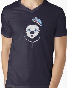 Crooked Smile Mens V-Neck T-Shirt