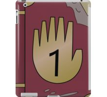 Gravity Falls Journal 1  iPad Case/Skin