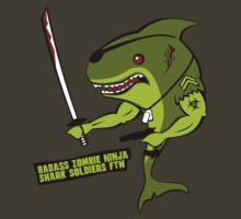 Badass Zombie Ninja Shark Soldier. by robotrobotROBOT