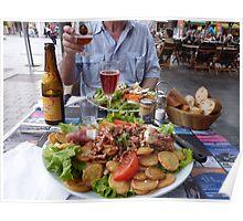 Dinner in Reims France Poster
