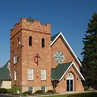 M.E. Church, Ganges, Michigan, est. 1840 by robrich