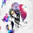 The Big Bang theory by Angel Benavides