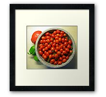 Grape Tomatoes - Moby Grape Framed Print
