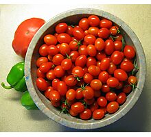 Grape Tomatoes - Moby Grape Photographic Print