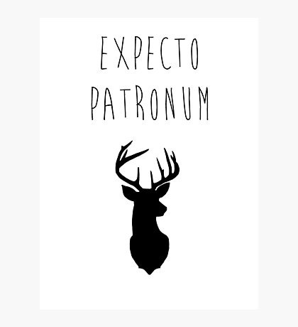 Expecto Patronum Photographic Print