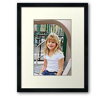 update on Gabrielle Framed Print