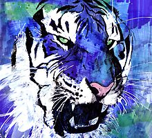 Blue Tiger by Nikki Cooper