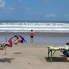 beautiful beach at Legian, Bali by geof