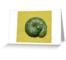 Slimy  yet satisfying ! Greeting Card