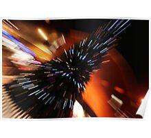 Zoom Burst Poster