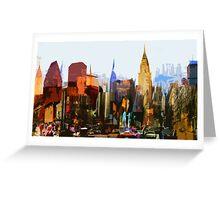 Manhattan #1 Greeting Card