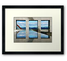 WINDOWS  ILLUSION Framed Print