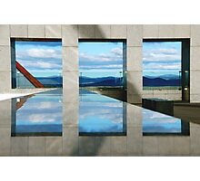 WINDOWS  ILLUSION Photographic Print