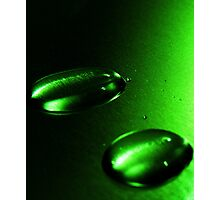 Two green  Photographic Print