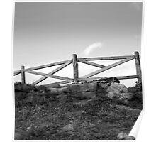 Upward Fence Poster