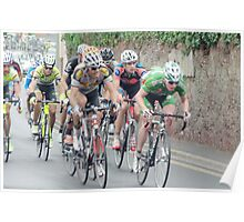 Tour of Britain Cycle Race Poster