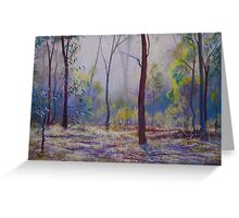 'Moody Bush Blues' Greeting Card