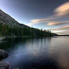 Bank of Jenny Lake by steini