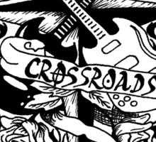 Cross Roads Logo - Color T's Sticker