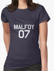 Malfoy Quidditch team Womens Fitted T-Shirt